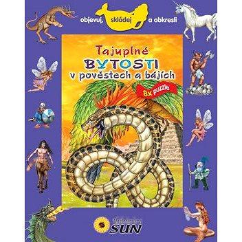 Tajuplné bytosti v pověstech a bájích 8x puzzle: Objevuj, skládej a obkresli (978-80-7371-485-7)