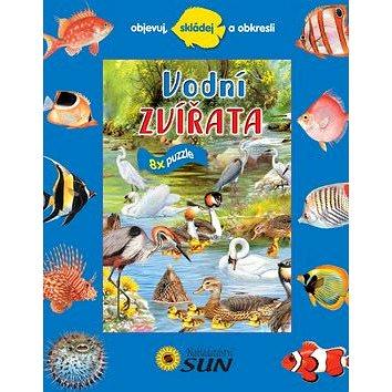 Vodní zvířata 8x puzzle: Objevuj, skládej a obkresli (978-80-7371-486-4)