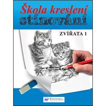 Škola kreslení, stínování - zvířata 1 (978-80-256-1027-5)