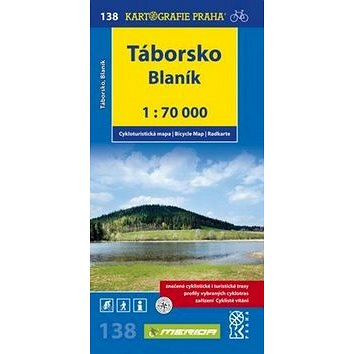 Táborsko Blaník: cyklomapa 1:70 000 (978-80-7393-133-9)