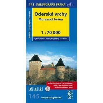 Oderské vrchy Moravská brána: cyklomapa 1:70 000 (978-80-7011-989-1)