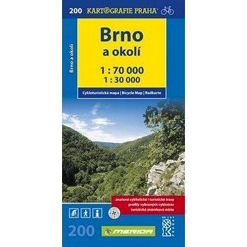 Brno a okolí: cyklomapa 1: 70 000 (978-80-7393-025-7)