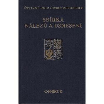 C.H.BECK Sbírka nálezů a usnesení ÚS ČR, svazek 63 (978-80-7400-467-4)