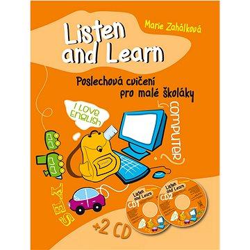 Ottovo nakladatelství Listen and Learn Poslechová cvičení pro malé školáky + 2 CD (978-80-7451-273-5)