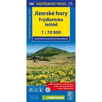 Jizerské hory, Frýdlantsko, Ještěd: 106 cyklomapa (978-80-7393-315-9)