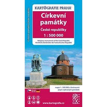 Církevní památky České republiky: 1: 500 000 (978-80-7393-289-3)