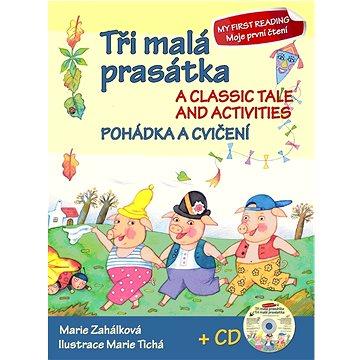 Ottovo nakladatelství Tři malá prasátka Pohádka a cvičení + CD: A classic tale and activities + CD (978-80-7451-323-7)