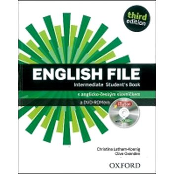English File Intermediate Student´s Book + iTutor DVD-ROM Czech Edition: Third Edition (978-0-945198-9-2)