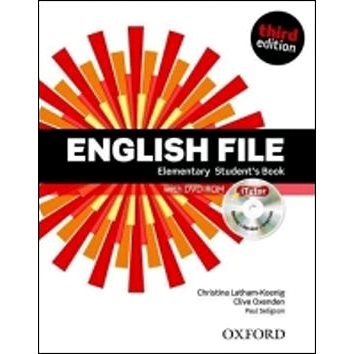 English File Elementary Student´s Book + iTutor DVD-ROM Czech Edition: Third Edition (978-0-945988-