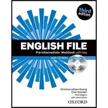 English File Pre-Intermediate Workbook with key + iChecker CD-ROM: Third Edition (978-0-945987-3-6)