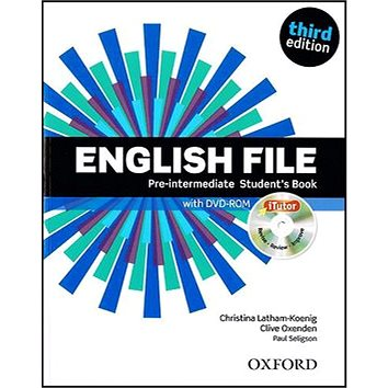 English File Pre-Intermediate Student´s Book + iTutor DVD-ROM: Third Edition (978-0-945986-5-1)