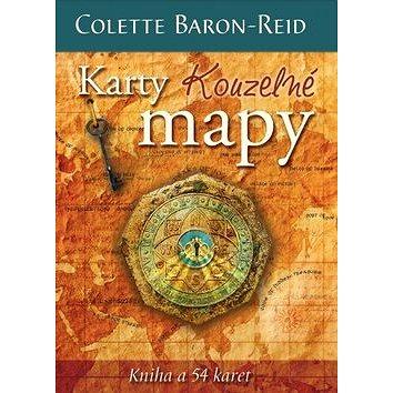 Karty Kouzelné mapy: Kniha a 54 karet (978-80-7370-237-3)