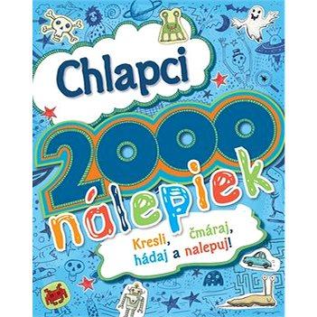 Chlapci 2000 nálepiek: Kresli, čmáraj, hádaj a nelpuj! (978-80-8107-696-1)