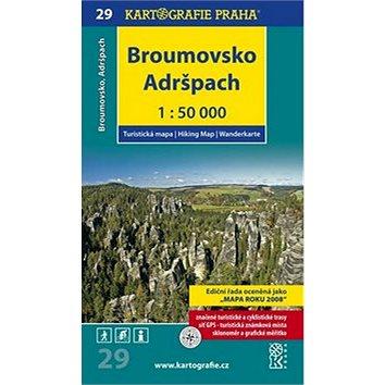 Broumovsko, Adršpach 1:50 000: turistická mapa (978-80-7393-117-9)