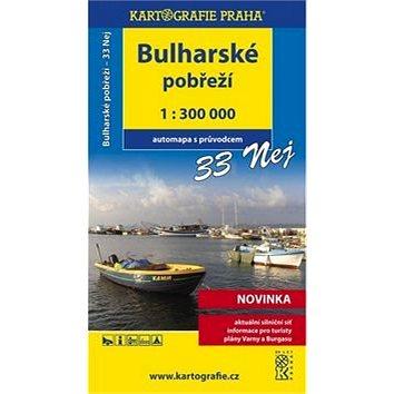 Bulharské pobřeží 33 nej: 1:300 000 (978-80-7393-055-4)