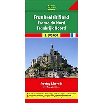 Automapa Francie sever 1:500 000 (978-3-07-90580-9)