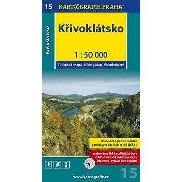 Křivoklátsko 1:50 000: turistická mapa (978-80-7393-004-2)