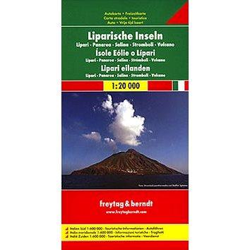 Automapa Liparské ostrovy 1:20 000 (978-3-07-90312-6)