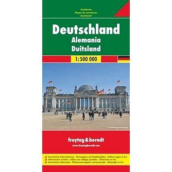 Automapa Německo 1:500 000 (978-3-07-99051-5)
