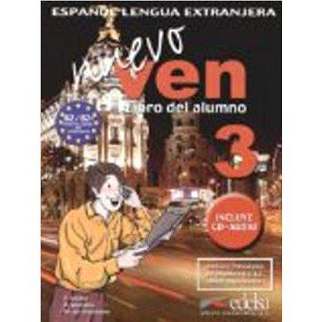 Ven nuevo 3 + CD: španělština pro střední a jazykové školy (978-84-7711-853-4)
