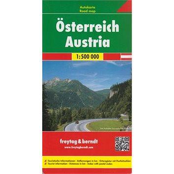 Automapa Rakousko 1:500 000 (978-3-508-4213-6)