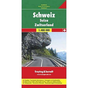 Automapa Švýcarsko 1:400 000 (978-3-07-90326-3)