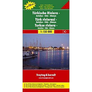 Automapa Turecká riviéra – Antalya, Side 1:150 000 (978-3-07-90769-8)