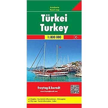 Turecko 1:800 000 (978-3-07-90961-6)