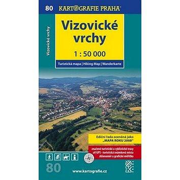 Vizovické vrchy 1:50 000: turistická mapa (978-80-7393-121-6)