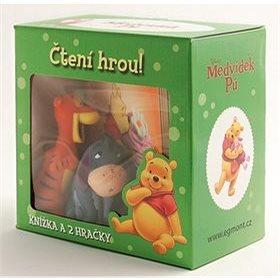 Medvídek Pú Čtení hrou! Knížka a 2 hračky (859-4-638-5695-4)