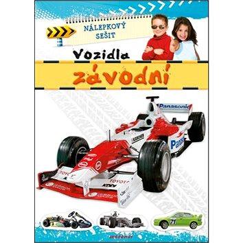 Nálepkový sešit Vozidla závodní (978-80-87845-00-4)