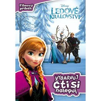 Ledové království Filmový příběh Vybarvuj, čti si, nalepuj! (978-80-252-2849-4)
