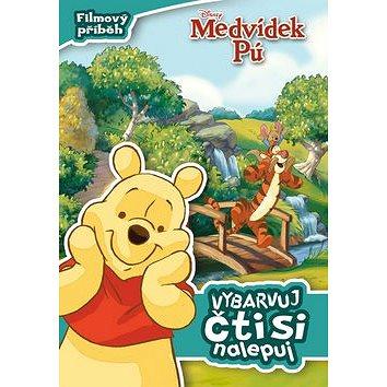 Medvídek Pú Filmový příběh Vybarvuj, čti si, nalepuj! (978-80-252-2855-5)