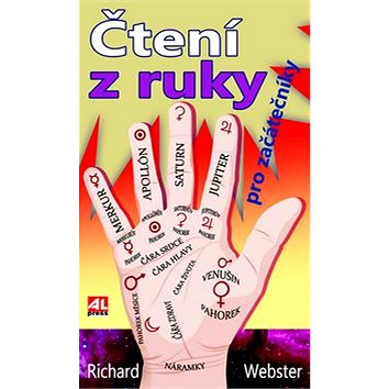 Čtení z ruky: Odhalte budoucnost z dlaně (978-80-7466-390-1)