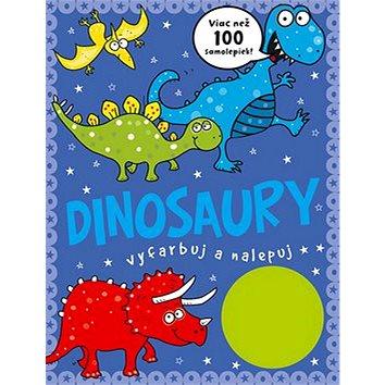 Dinosaury vyfarbuj a nalepuj: Viac než 100 samolepiek! (978-80-8107-759-3)