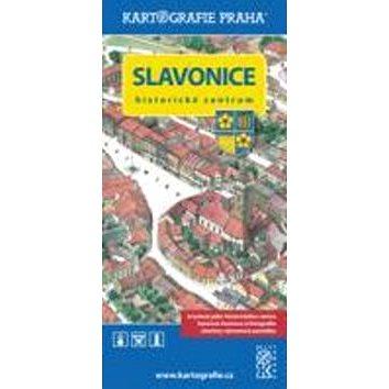 Slavonice - historické centrum: Kreslená mapa (978-80-7393-294-7)