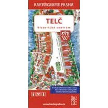 Telč - historické centrum: Kreslená mapa (978-80-7393-306-7)