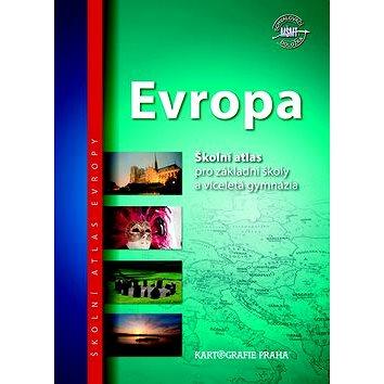 Evropa školní atlas: pro základní školy a víceletá gymnázia (978-80-7393-210-7)