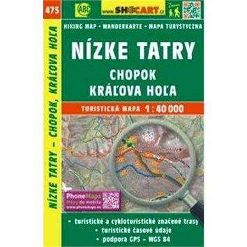 Nízke Tatry, Chopok, Kráľova Hoľa 1:40 000: 475 (978-80-7224-753-0)
