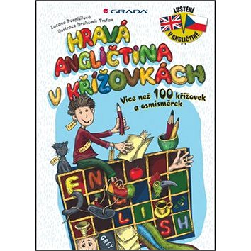 Hravá angličtina v křížovkách: Více než 100 křížovek a osmisměrek (978-80-247-5040-8)