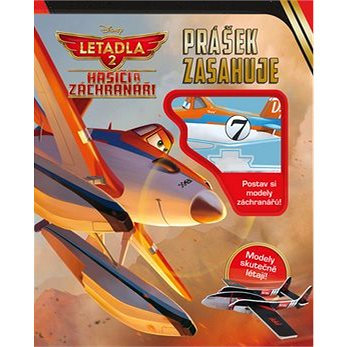 Letadla 2 Hasiči a záchranáři Prášek zasahuje: Postav si odely záchranářů! (978-80-252-2923-1)
