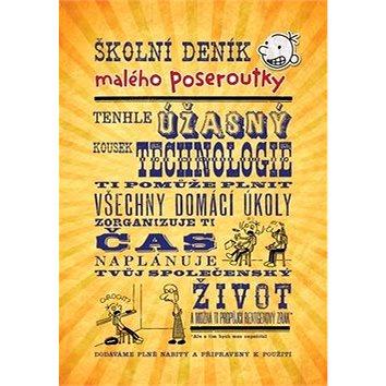 Školní deník malého poseroutky (978-80-7447-634-1)