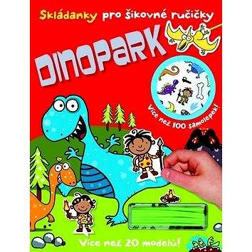 Skládanky pro šikovné ručičky Dinopark (978-80-256-1360-3)