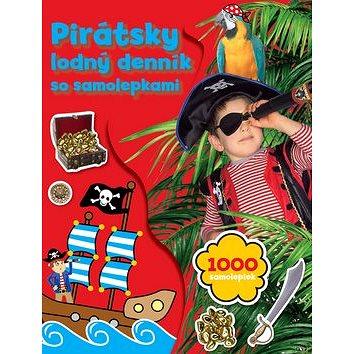 Pirátsky lodný deník so samolepkami: 1000 samolepiek (978-80-8107-803-3)