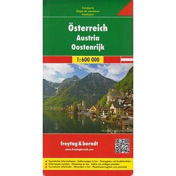 Automapa Rakousko 1:600.000 (38-508-4201-0)
