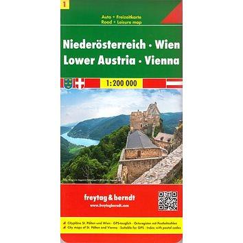Automapa Dolní Rakousko Vídeň 1:200 000 (38-508-4341-6)