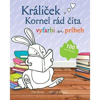 Králiček Kornel rád číta: vyfarbi si príbeh (978-80-8107-821-7)