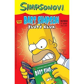 Bart Simpson Žlutý kluk: 41913 (978-6-600-7514-5)