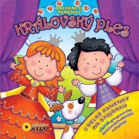 Královský ples Oblékni si panenky: 2 velké panenky na stojánku (978-80-7371-507-6)