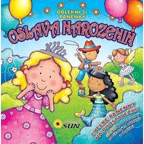 Oslava narozenin Oblékni si panenky: 2 velké panenky na podstavečku (978-80-7371-508-3)